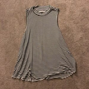 Pure + Good by Anthropologie Mock Neck Tank XL